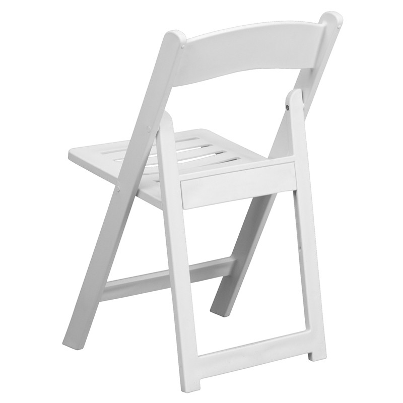 Chic white resin folding chairs lightbox moreview wfchabf