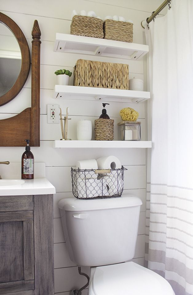 Collection bathroom storage solutions beach house design ideas: the powder room -. small bathroom storagetoilet  ... yexljzl