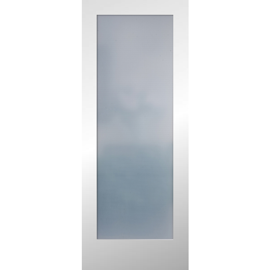 Collection frosted glass interior doors reliabilt frosted glass slab interior door (common: 24-in x 80-in iprkklf