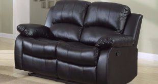 Collection leather reclining loveseat classic 2 seat bonded leather double recliner loveseat - walmart.com lvgjodz