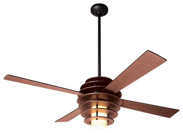 Collection of ... contemporary ceiling fans with lights fixture finish blacksmith shades  cafe tint mdlnnhq