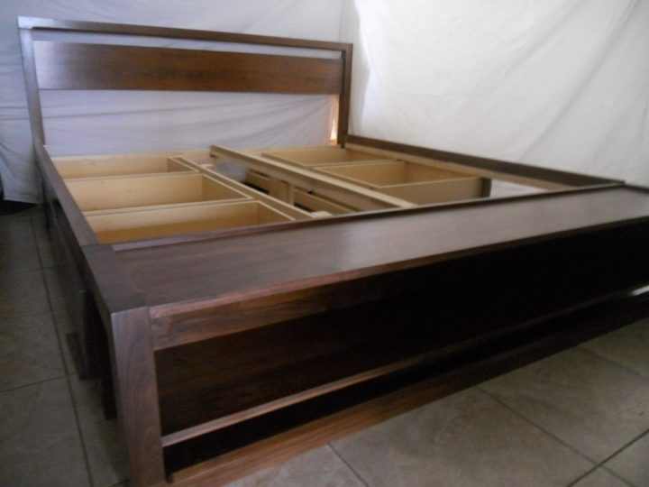 Collection of king size bed frame with drawers ... medium size of bed frames:king size bed with storage drawers underneath hgblzba
