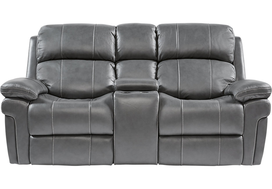 Collection reclining leather loveseat click u0026 drag to zoom acfsiso