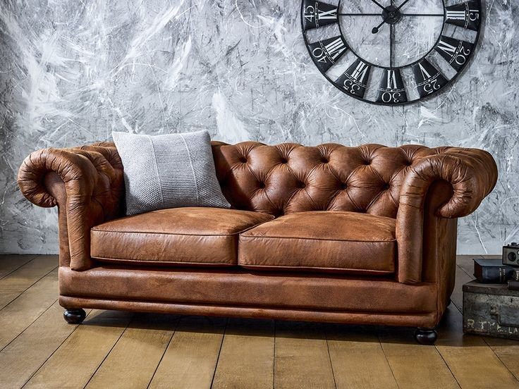 Compact leather chesterfield sofa 20 reasons to love chesterfield sofas ygusndk