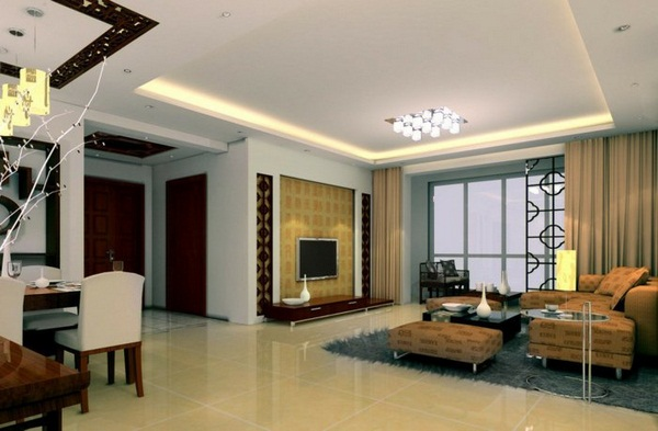 Selecting living room ceiling lights