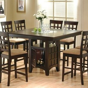 Compact melvin counter height dining table nvvywuc