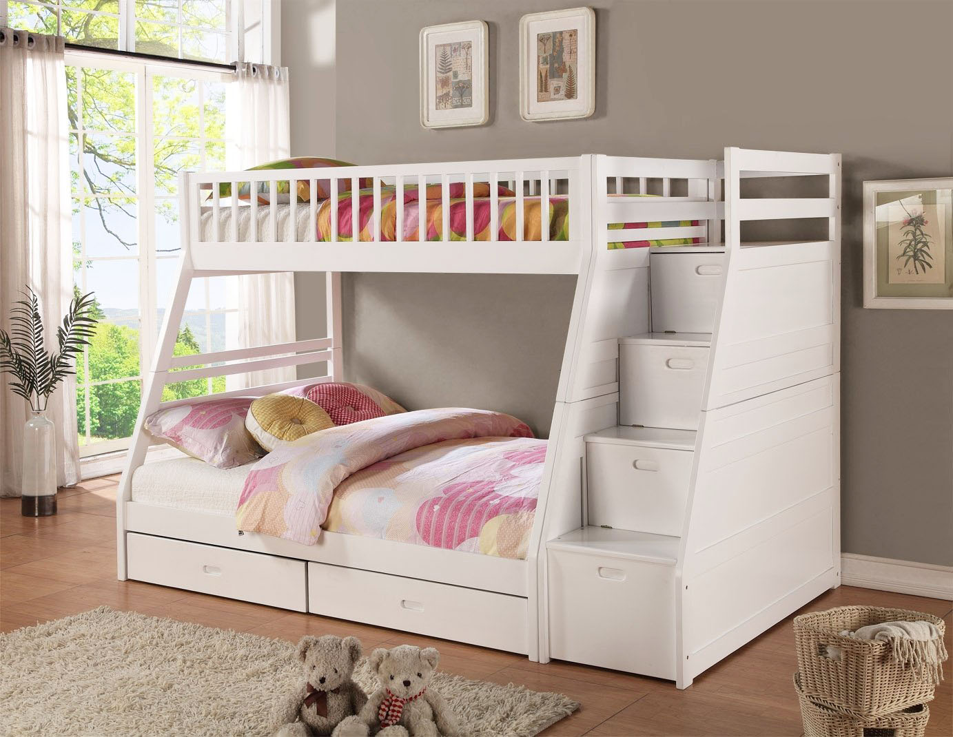3 important reasons to purchase white bunk beds with stairs