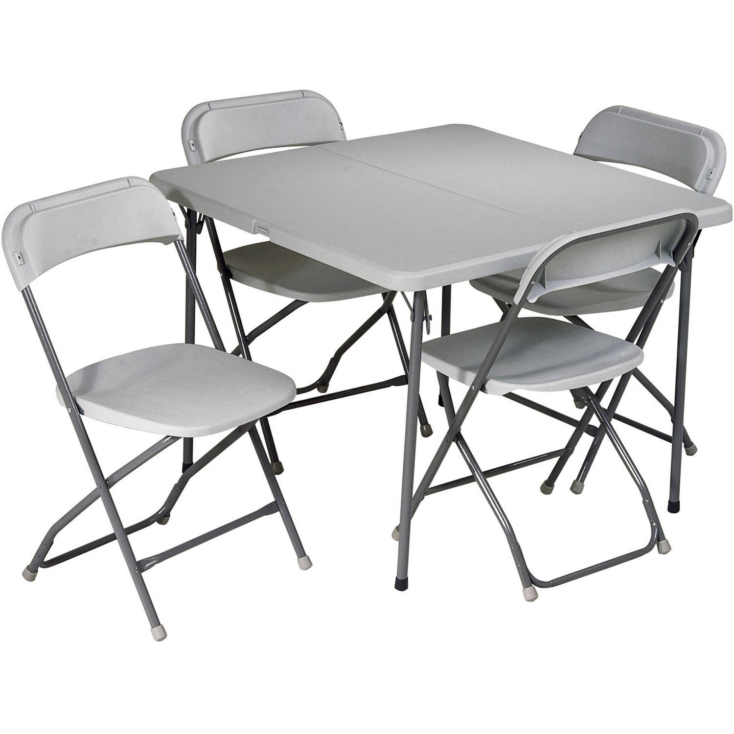 Concept folding table and chairs set office star work smart 5-piece folding table and chair set csdjtfn