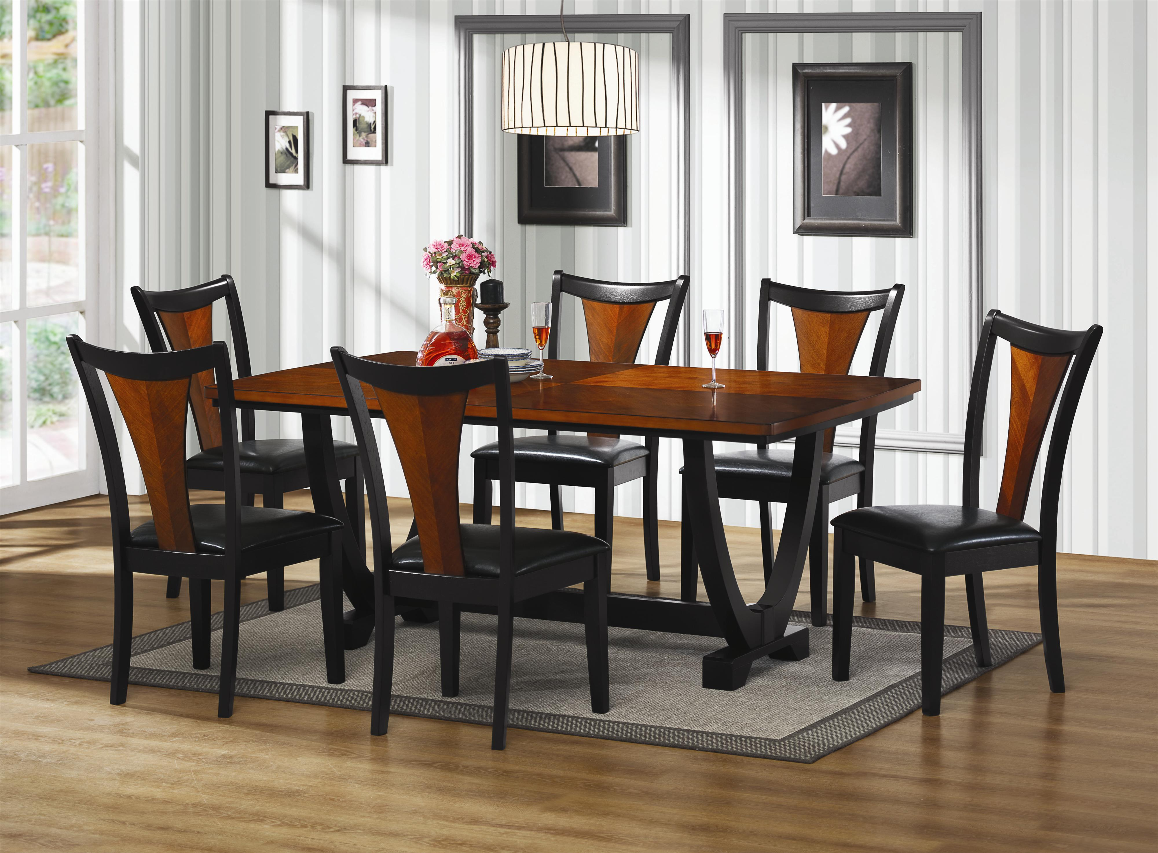 Concept wooden dining table and chairs cute coaster boyer 5 piece table and chair set value city furniture wood fwtgsyi