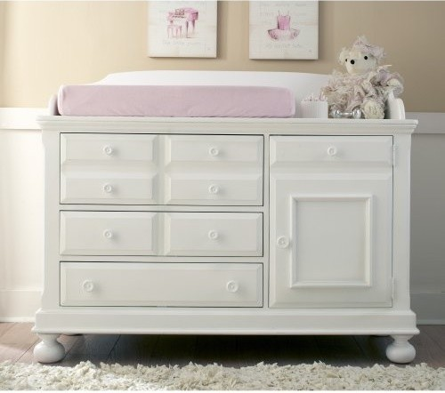 Contemporary baby dresser with changing table white dresser changing table combo ... fnejnmh