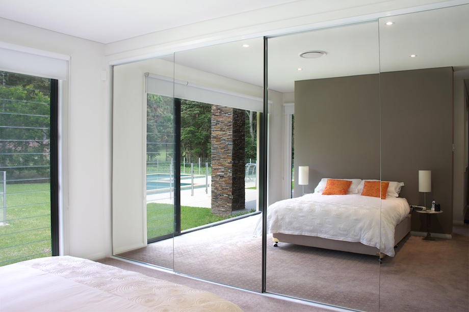 Contemporary back to: mirrored sliding closet doors wppeuso