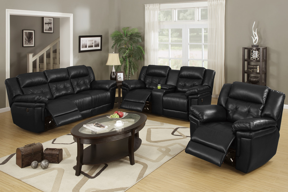 Learn to select premium black living room furniture