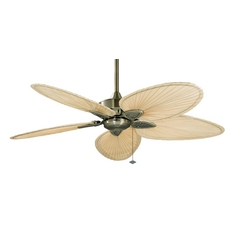 Contemporary ceiling fans without lights ceiling fan without light in antique brass finish shhnbpr
