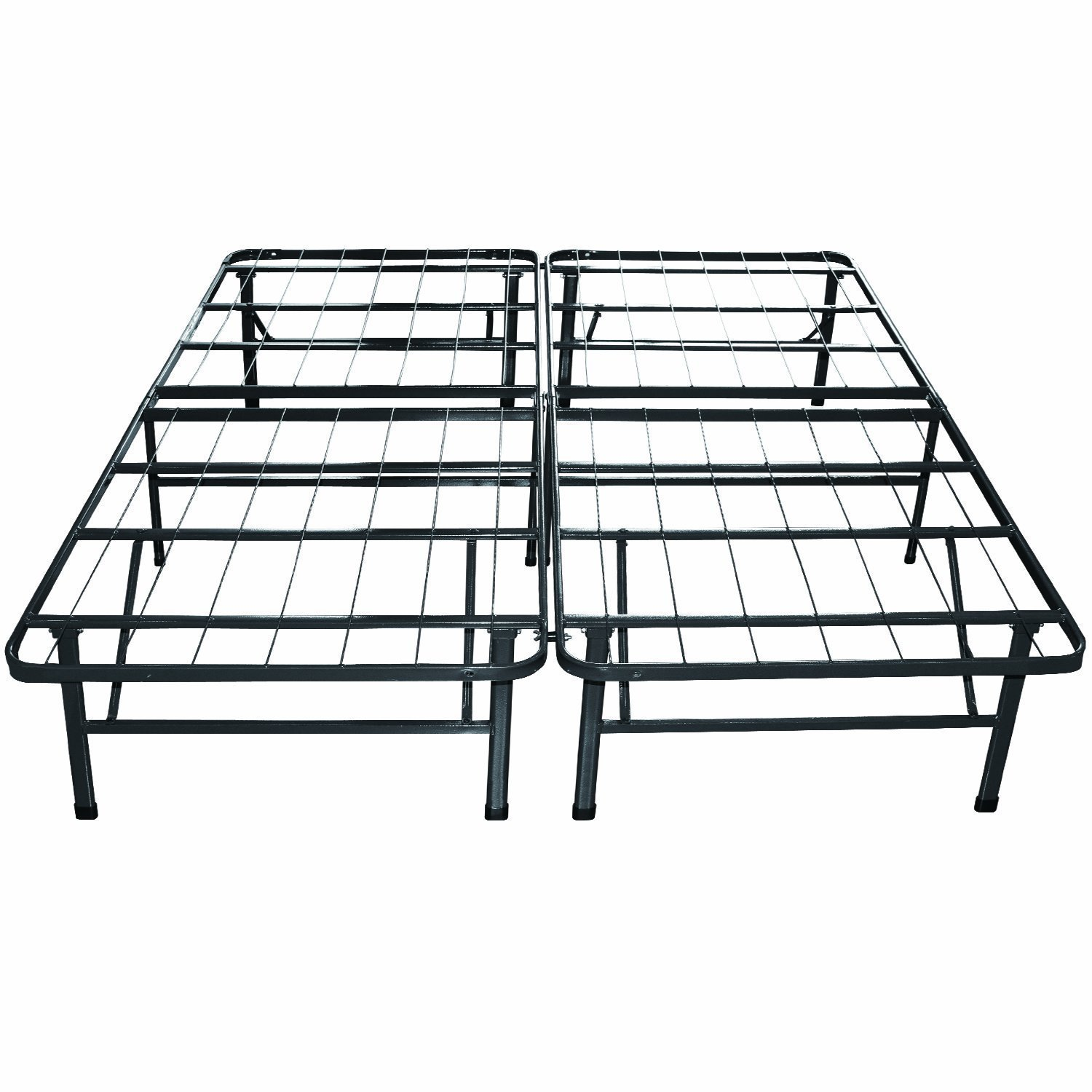 Contemporary king size metal bed frame amazon.com: classic brands hercules heavy-duty 14-inch platform metal bed  frame | mattress fexohpr