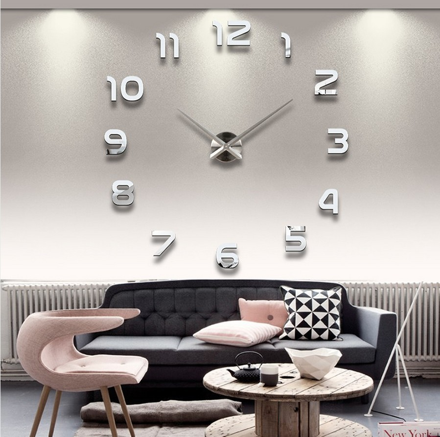 Large contemporary wall clocks – the many places to hang one