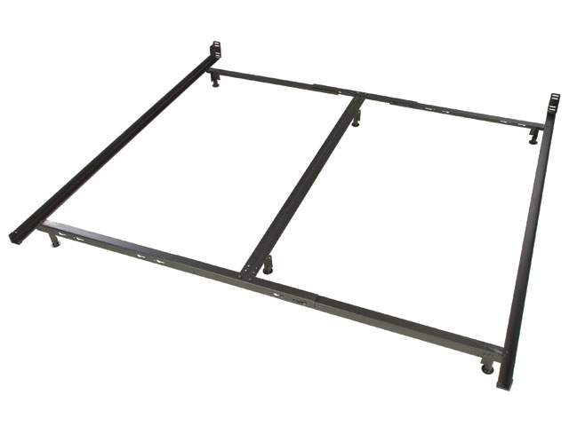 Contemporary low profile king size metal bed frame zbhiemk