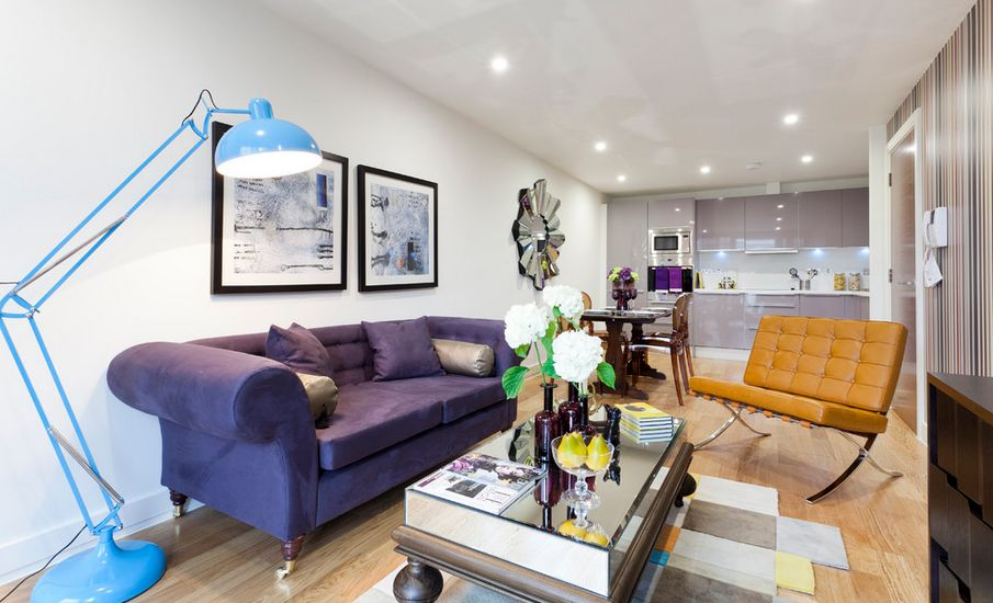 Contemporary matching living room furniture how to match a purple sofa to your living room décor fhgbxpm