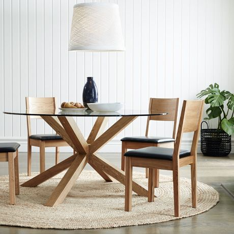 Contemporary round glass dining table todd dining table mvzueya