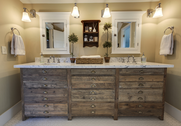 Selecting the right types of country bathroom vanities