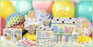 Contemporary unisex baby shower decorations baby ... ncyuqsr