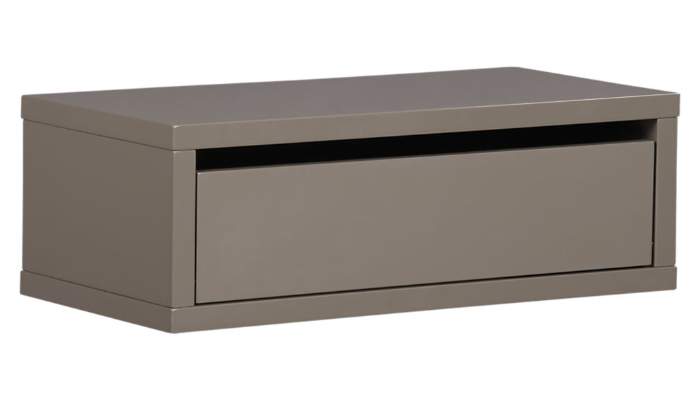 Contemporary wall mounted storage shelves ... slice grey wall mounted storage shelf ... qzuhdbv