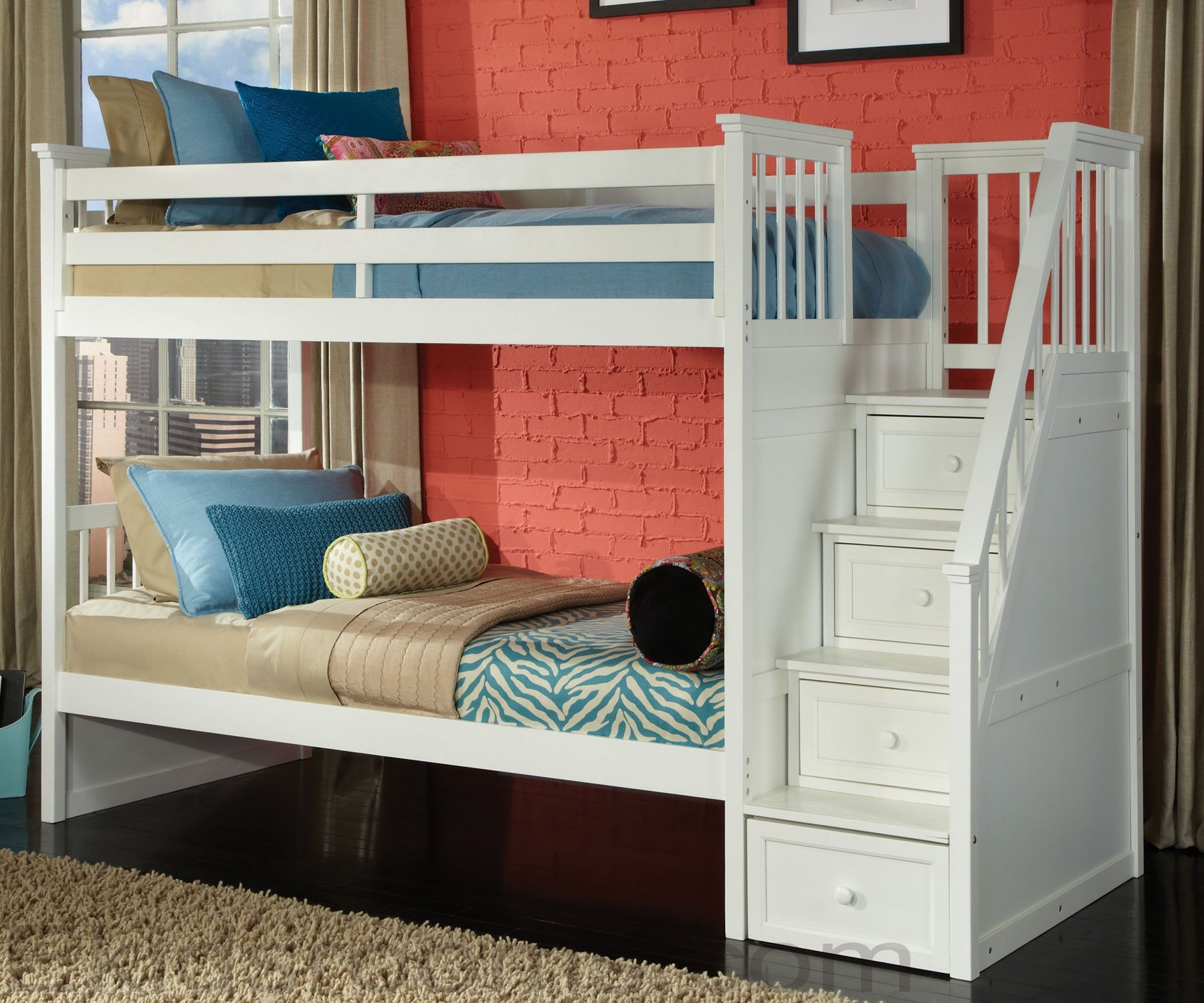 Contemporary white bunk beds with stairs full size of bunk bedscrib mattress bunk beds ikea svarta bunk bed toddler fkpjtln