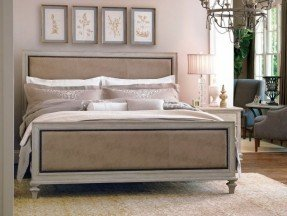 Contemporary wood and upholstered headboard diy wood framed upholstered headboard with nailhead trim - part zxvumbc