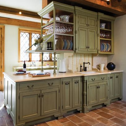 Cool distressed kitchen cabinets on sage green kitchen cabinets design ideas  pictures remodel znqwief