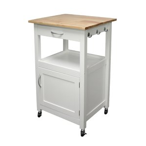 Cool kitchen carts and islands jordan kitchen island cart with natural wood top tcstezy