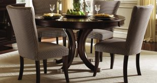 Cozy dining room furniture sets round dining tables amazing round dining tables set unique shape fervbgn