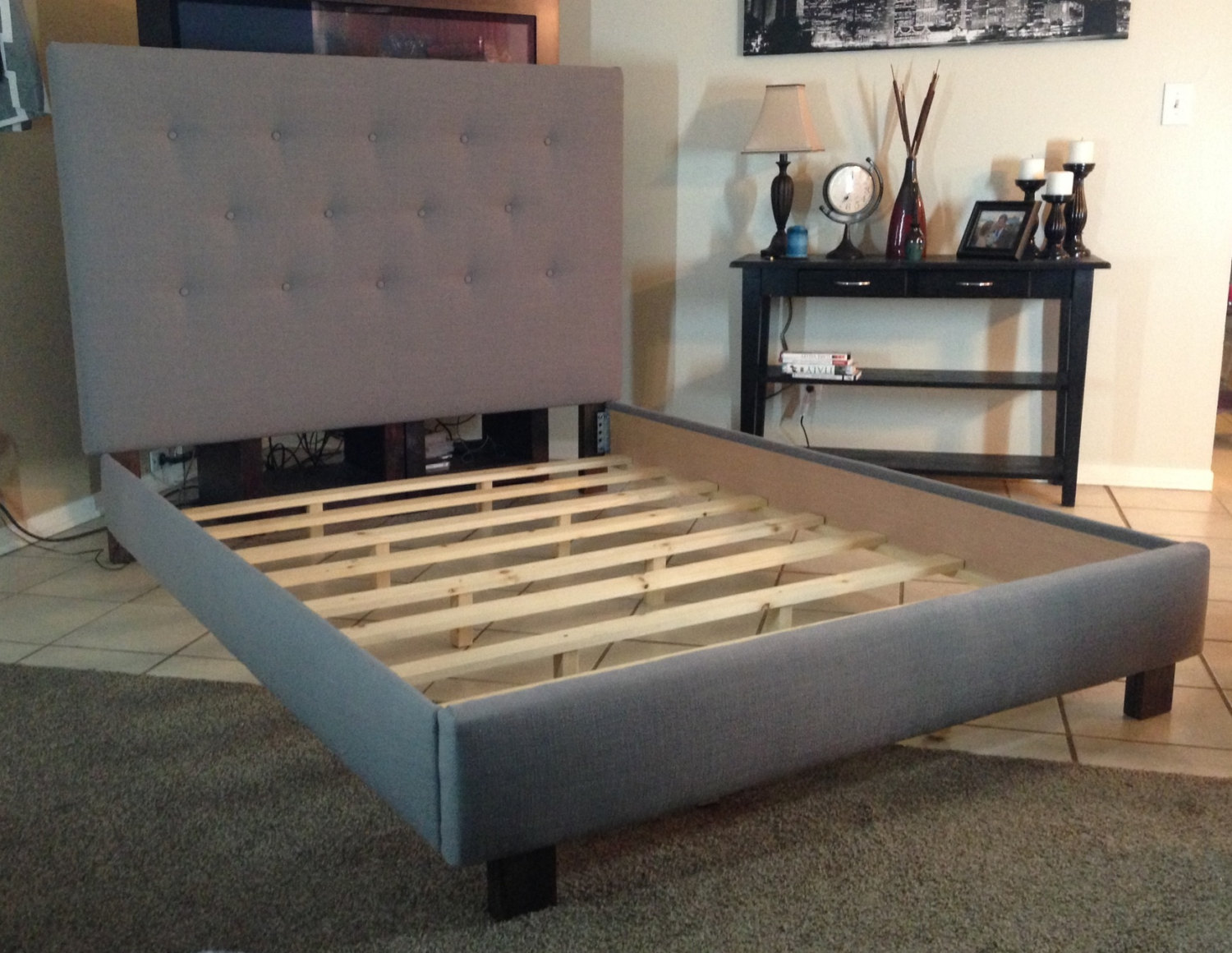 Cozy king size bed frame with headboard image of: homemade king size bed frame vqzyxyo