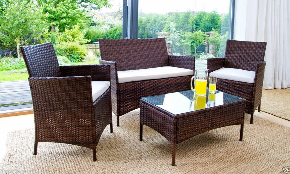 Why you should choose all-climate rattan garden furniture sets