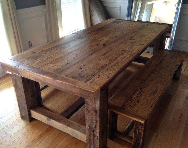 Cozy reclaimed wood dining table best 25+ reclaimed wood tables ideas on pinterest | reclaimed wood table aavhxro