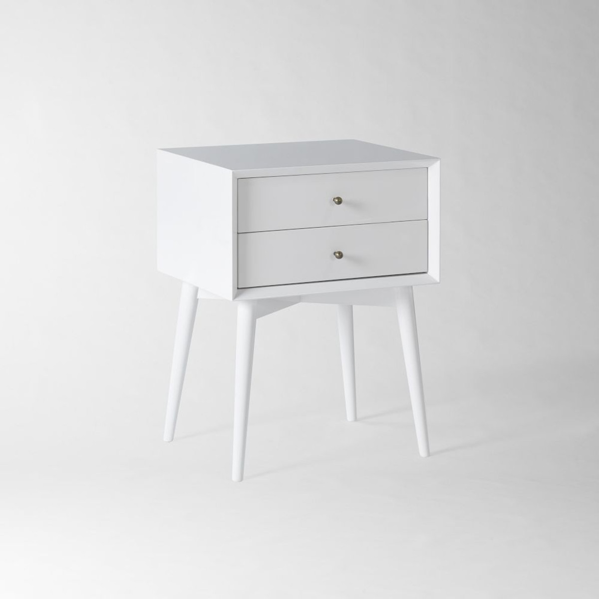 Why pick a small white bedside table for your living space