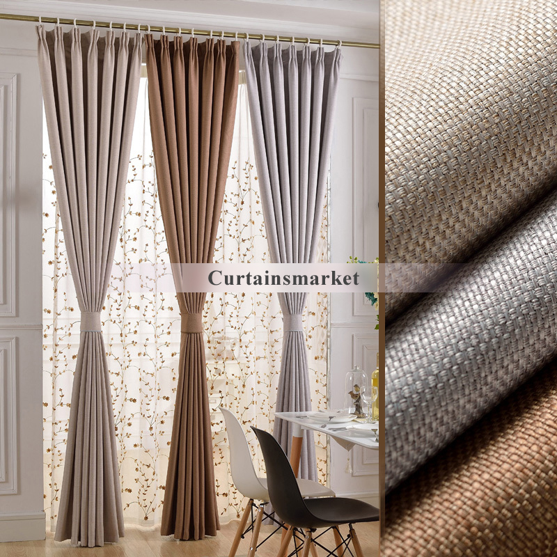 Cozy thermal blackout curtains of eco-friendly and soundproof styles odlrole
