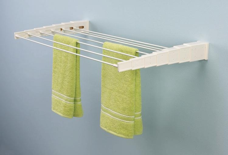 Cozy wall mounted clothes drying rack wall-mount telescoping clothes drying rack xirtfjn