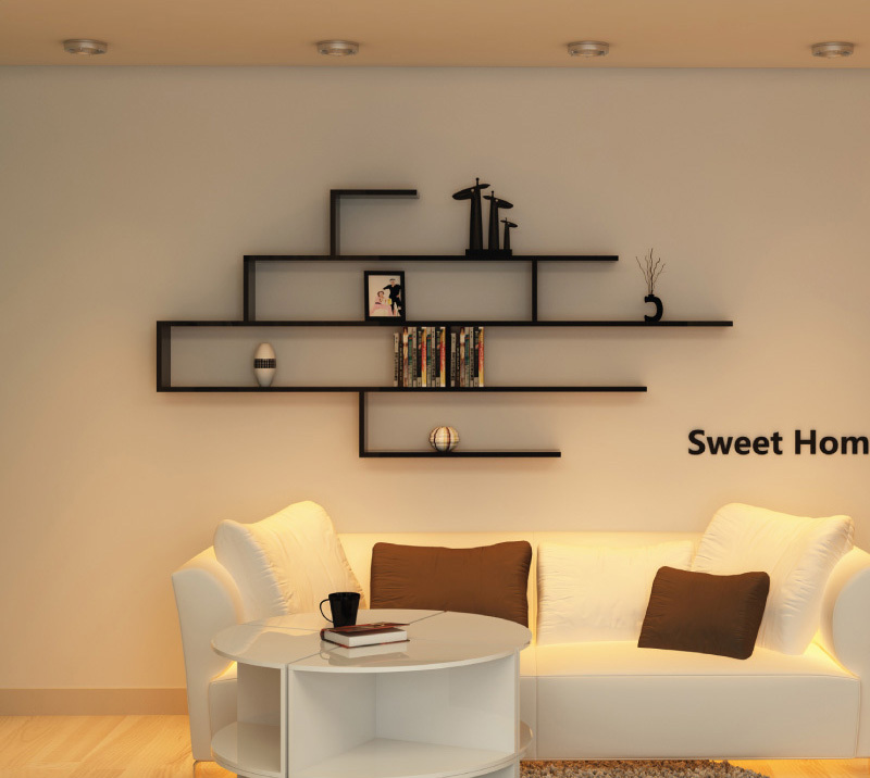 Cozy wall mounted display shelves image of: wall mount shelves style qshwrvf