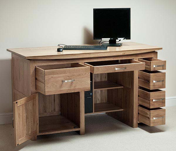 What are the best uses of a computer desk with storage