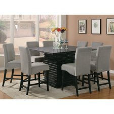 Creative contemporary dining room sets genoa 9 piece counter height dining set azrczkl