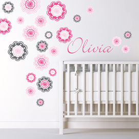 Creative wall decals for kids flower wall decals ejoxuvn