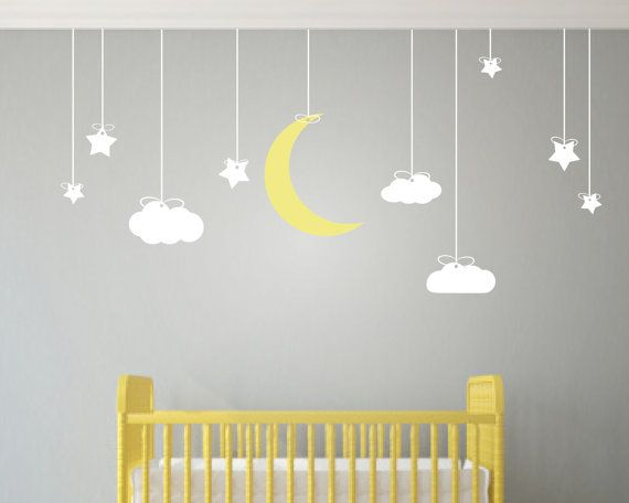Creative wall stickers for nursery childrens wall art - nursery decor - wall stickers nursery - kids wall isoxjgw