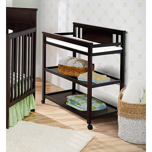 Cute changing table with wheels image of: metal changing table for baby knqrzhz