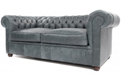 Cute grey leather chesterfield sofa chester small 2 seat chesterfield ... klyhzfk
