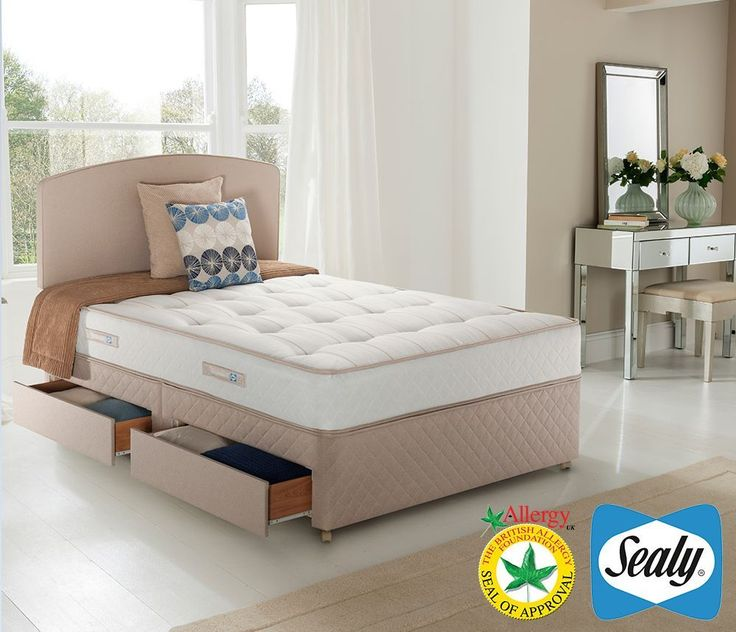 Cute king size bed with mattress double bed with mattress and storage divan extra firm 4ft 6 kvzhpmu