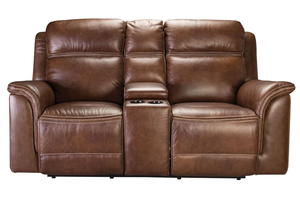 Cute leather reclining loveseat fargo leather power reclining loveseat with console from gardner-white  furniture ezdxtob