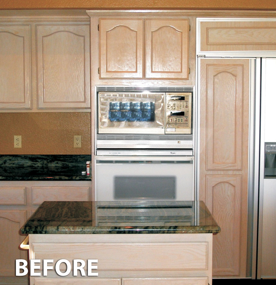 Cute resurfacing kitchen cabinets refacing before 2 zmshaux