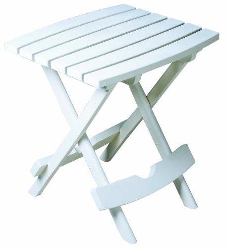Cute small plastic folding table amazon.com : adams manufacturing 8500-48-3700 plastic quik-fold side table,  white : patio fdoqeew