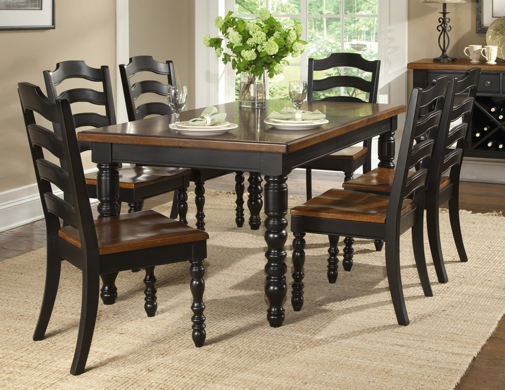 Decor Ideas black dining room furniture black dining room table set qoyfwsm