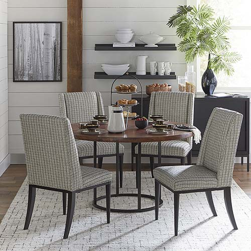 Design Ideas round dining table and chairs custom dining 54 uvyxcia
