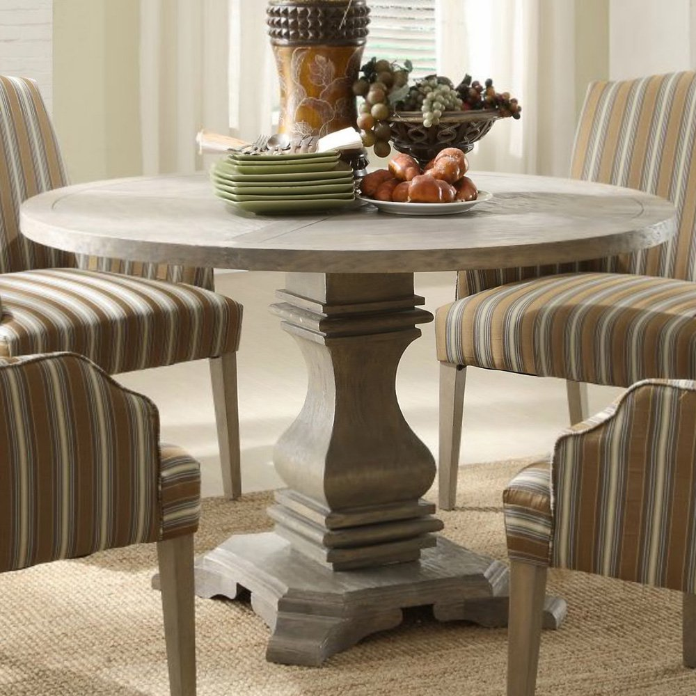 Design Ideas round pedestal dining table availability: in stock afoenjp